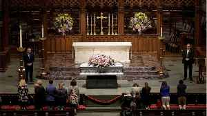 News video: Barbara Bush to Be Laid to Rest In Private Funeral
