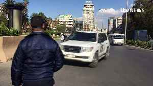 News video: OPCW leaves site of suspected chemical attack in Syria