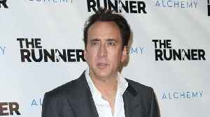 News video: Nicolas Cage Hints at Retirement From Acting