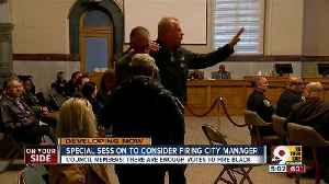 News video: Council to vote on Harry Black's firing Saturday