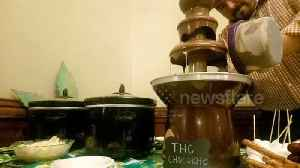 News video: Weed Day celebration includes THC-infused chocolate fountain