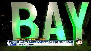 """News video: """"Bayked By The Bay"""" celebrates 420 holiday"""