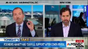 News video: Chuck Todd Lashes Out At Fox News