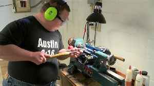 News video: His woodworking talent became a business