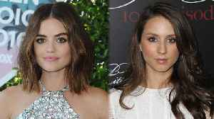 News video: Lucy Hale & Troian Bellisario APPEARING On Pretty Little Liars Spin-Off?