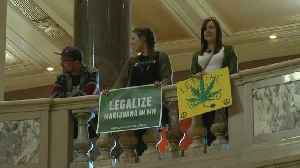News video: Marijuana Supporters Rally At State Capitol