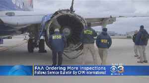 News video: FAA Orders More Engine Inspections After Deadly Southwest Accident