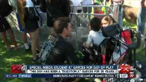 News video: Garces Memorial High School students host a day of play for special needs students