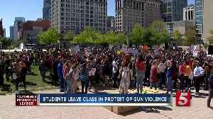 News video: Nashville Students Walk Out On Columbine Anniversary