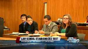 News video: Proposal to eliminate standardized test requirement for law schools moves forward