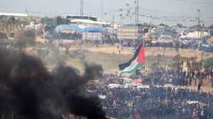 News video: Palestinians Continue Protests Along Gaza-Israel Border