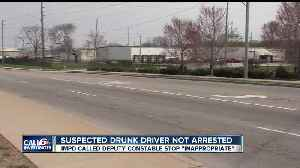News video: Suspected drunk driver walks away from criminal charges after a deputy constable tells him to pull over