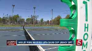 News video: Hadley Park Receives USTA Davis Cup Legacy Gift