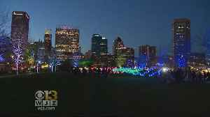 News video: Light, Music And Innovation Await Light City Visitors In Final Days