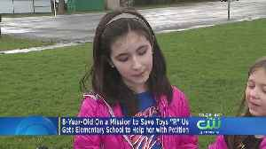 News video: 8-Year-Old NJ Girl On A Mission To Save Toys