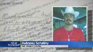News video: Lawsuit: Sheriff's Department Changed Autopsy Report In Police Excessive Force Case