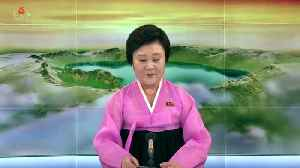 News video: North Korea TV says the country will stop nuclear tests, abolish test site