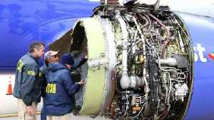 News video: FAA Orders Inspections After Southwest Airlines Accident