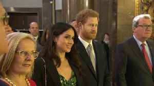 News video: Meghan Markle And Prince Harry Attend Invictus Games Reception