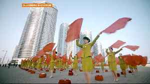 News video: Exclusive report from N Korea capital on 'self-reliance' governing