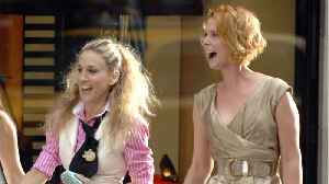 News video: Sarah Jessica Parker Comments On Cynthia Nixon's Political Run