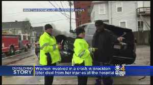 News video: Woman Dies From Injuries Suffered In Brockton Crash