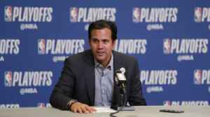 News video: Erik Spoelstra on the Heat's loss in Game Four to the 76ers