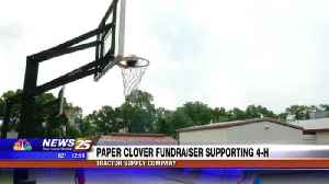 News video: Paper Clover Fundraiser Supporting 4-H
