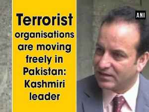 News video: Terrorist organizations are moving freely in Pakistan: Kashmiri leader