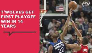 News video: NBA Playoffs: Pelicans sweep Trail Blazers