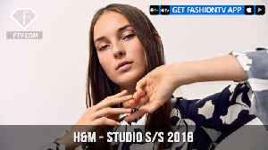 News video: H&M Presents Urban Vibes in the Studio with Spring/Summer 2018 Collection   FashionTV   FTV