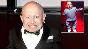 News video: Actor Verne Troyer Who Played Mini-Me in 'Austin Powers' Movies Has Died