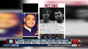 News video: Family of missing Bakersfield man holds car wash