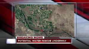 News video: BREAKING: Missing man in Snake River