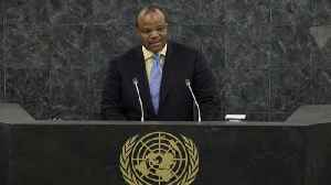 News video: Swaziland's King Is Changing The Name Of His Country