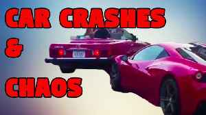 News video: Car Crashes & Chaos - Breaking Videos