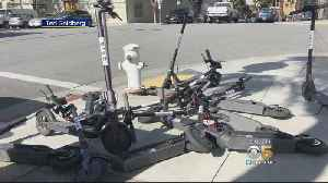 News video: Complaints Mount Over Electric Scooters Littering SF Streets