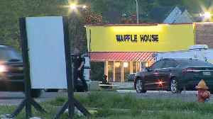 News video: Naked gunman kills four at Waffle House in Tennessee