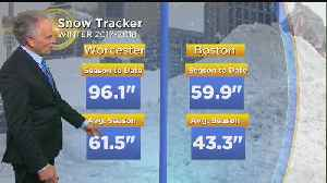 News video: WBZ Midday Forecast For April 22