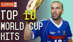 News video: All Time World Cup Kits Ranked