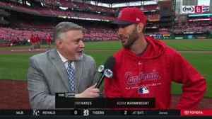 News video: Adam Wainwright on being cautious with elbow: 'I don't want to miss the fun stuff'
