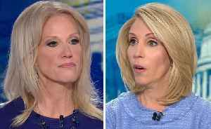 News video: Kellyanne Conway blasts CNN for asking about her husband's critical tweets about Trump