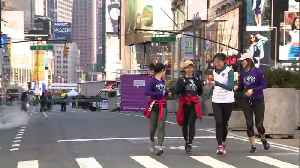 News video: Streets of New York City Go Car-Less for Earth Day