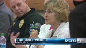 News video: Panel held following student walkout