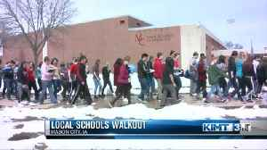 News video: Local Students Walk Out