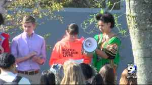 News video: Students continue to protest gun violence