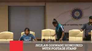 Jhulan Goswami Honoured With Postage Stamp [Video]