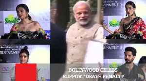 News video: Bollywood Celebs Support Death Penalty