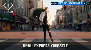 News video: H&M Demin Features Tapdancer Nathan Mitchell Presenting Express Yourself | FashionTV | FTV