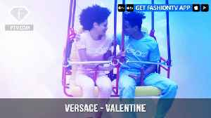 News video: Versace Presents V my Versace Valentine Escape From Reality | FashionTV | FTV